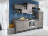 cuisine sur mesure impuls IP1200 bleu