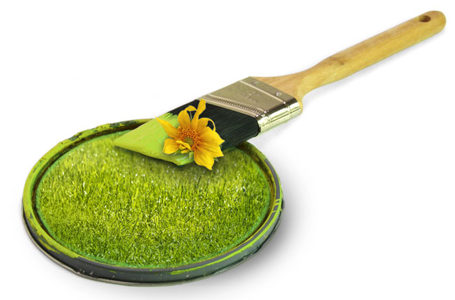 Matériaux écologiques et peintures naturelles